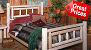 Cedar Log Bedroom Furniture