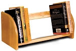 Tabletop Book Rack Natural Lacquer Finish