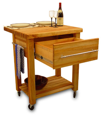 baby grand butcher block kitchen island cart with drop leaf. Black Bedroom Furniture Sets. Home Design Ideas
