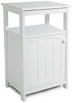 Telephone Stand Kitchen White Storage Cabinet