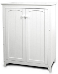 Double Door Kitchen White Storage Cabinet