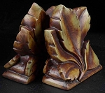 Fall Leaf Bookends T.P. - Set of Two