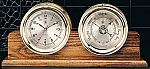 Solid Oak Double Base Display Clock Holder (Base Only)