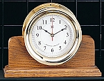 Solid Oak Single Base Display Clock Holder (Base Only)