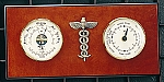 Medical Tide Clock and Barometer with Thermometer T.P.