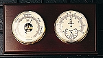 French Barometer And Thermometer With Hygrometer T.P.