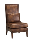 Abbott Traditional High Back Accent Chair
