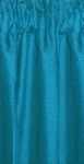 Dark Turquoise Tier Curtains