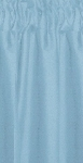 Light Blue Tier Curtains