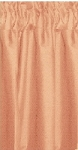 Peach Tier Curtains