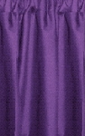 Purple Tier Curtains