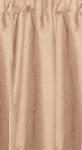 Tan Beige Tier Curtains