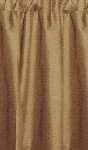 Taupe Tier Curtains