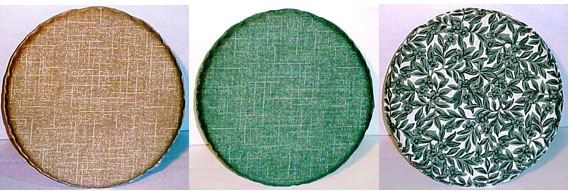 Round Seat Pad Cloth Top 13 Diameter With 1 1 2 Inches Of Soft