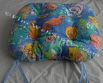 Funky Fish Beach Decor Chair Cushion