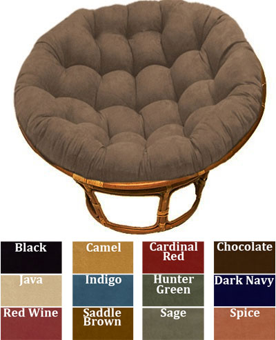 Papasan Micro Suede Replacement Cushions