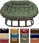 Love Seat Papasan Micro Suede Replacement Cushion