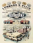 Valvoline Leonard & Ellis Tin Sign