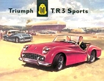 Triumph TR3 Sports Tin Sign