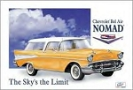Chevrolet Nomad Sky's the Limit Tin Sign