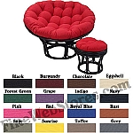 Papasan Solid Color Replacement Cushion