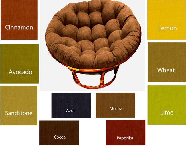 Outdoor Papasan Replacement Cushion