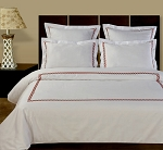 Amy Embroidered 10 Piece Egyptian Cotton Down Alternative Bed In A Bag
