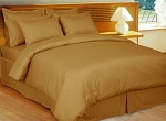 Bronze Stripe 8 Piece 600 Thread Count Egyptian Cotton Bed In A Bag