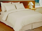 Ivory Stripe 8 Piece 600 Thread Count Egyptian Cotton Bed In A Bag