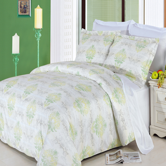 Lana FullQueen 4 Piece 300 Thread Count Egyptian Cotton Comforter Set