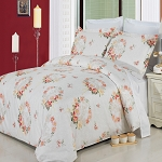 Liza Full/Queen 4 Piece 300 Thread Count Egyptian Cotton Comforter Set