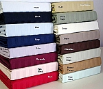 Full Or Double Size 600 Thread Count Egyptian Cotton Sheets Striped