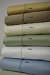 Queen Size 1000 Thread Count Egyptian Cotton Sheets Solid