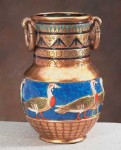 Egyptian Geese Vase