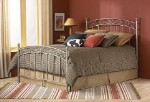 Ellsworth Bed Set With Frame New Brown