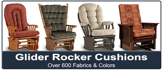 Replacement Glider Rocker Cushions