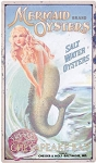 Mermaid Oysters Metal Sign