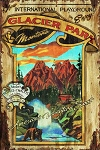 Glacier Park Montana Antiqued Wood Sign