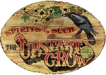Personalized, The Upstart Crow Antiqued Wood Sign