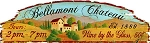 Bellamont Chateau Antiqued Wood Sign