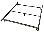 Low Profile Queen Size Metal Bed Frame