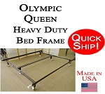 Olympic Queen Quick Ship! Heavy Duty Bed Frame