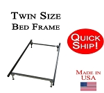 Twin Size Quick Ship Metal Bed Frame
