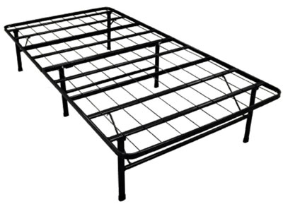 Twin Size Smart Base Steel Bed Frame