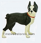 Boston Terrier Cast Iron Door Stop