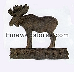 Rustic Moose Key Rack
