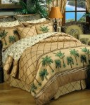 Kona Tropical Style Comforter and Bedding