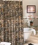 Max 4 Camouflage Shower Curtain Set