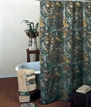 Timber Camouflage Shower Curtain Set
