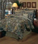 Camouflage Twin Size Sheet Set Timber